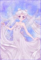 Queen Serenity. by MoonSelena