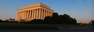DC Lincoln Memorial at sunrise by chrishillman