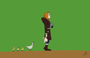 Cuack in the forest (basic version) by FREELANCER-23