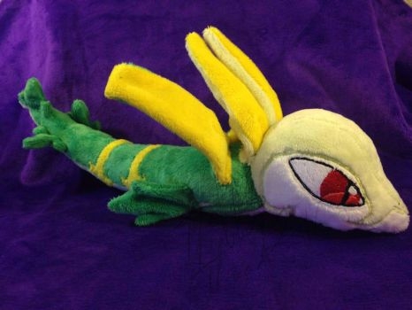 Serperior  Commission by Chibi-Katie