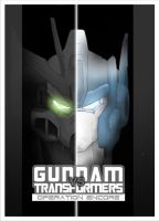 GUNDAM vs TRANSFORMERS Cover 2 by Tesla-Koi
