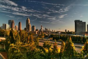 Atlanta Day Skyline HDR1 by fusk4