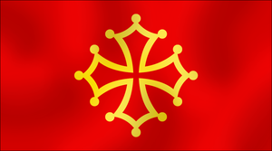 Flag of Occitania by AY-Deezy