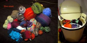 Yarn stash by Coccis