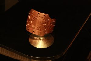 Copper filigree bangle by ChardwolfArmory