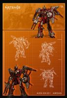 AXN-XX-01 Blueprint by UEGProductions