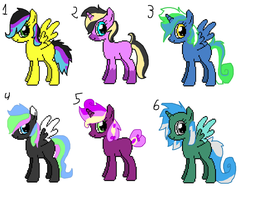 great...more pony adopts ( 1 left) by MephilesfanforSRB2