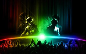 Daft Punk - Earth Concert by ediskrad-studios