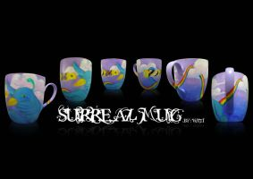surreal mug by whaats