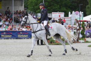 Fleabitten Grey Mare 3DE Show Jumping 10 by LuDa-Stock