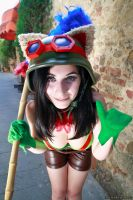 LeagueOfLegends: Teemo by GiadaRobin 01 by Noriyuki83