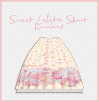 Lolita Skirt [ DOWNLOAD ] by Aia-Aria
