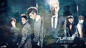 UKISS- Stop Girl - wallpaper by KateW49