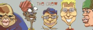 Bentoons 'THE CREW' by LightBombMike