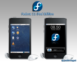 Fedora 11 for iPod Touch Beta by Megert