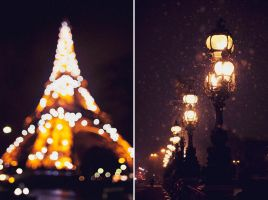 December in Paris by Lucem