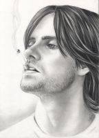 Jared Leto by junfender