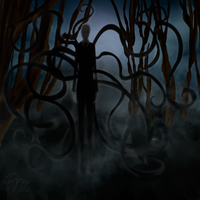 Slenderman by ConnyNee