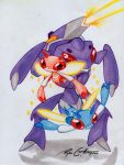 Genesect and Primesect by RyanCThompson