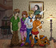 ANIMEFIED:Scooby Doo Gang by Capital-J
