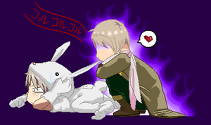 Here little bunny... by P-ChanAndP-Kun