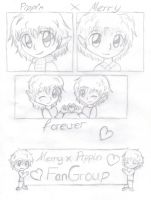 Merry x Pippin FanGroup by Tari-Ringeril