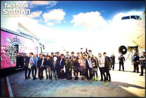 SMTOWN IN NY:DDD by xItzAcex