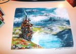 Howl's moving castle by Farbenfrei