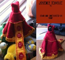Journey Traveler Plush by LemmingBot