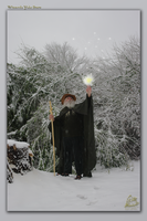 Wizards Yule Snow by skiesofchaos