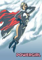 PowerGirl by Colussus