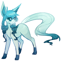 Glaceon by Takurapi
