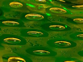 Green Bubbles 1600x1200px by kocoma
