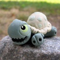 Creepy Turtle of the Dark by i-be-c