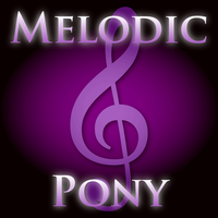 Melodic Pony artist icon for iTunes by Catspaw-DTP-Services