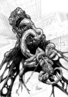Spiderman_vs_Venom by Vinz-el-Tabanas