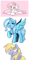 Pony Doodles by Ende26