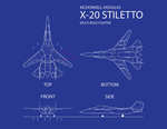 Request Design X-20 Stiletto by Cursarius