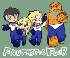 Fantastic Four by kaiko6