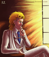 100 JoJo - 52. Deep in Thought by FerioWind