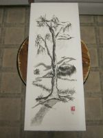 Sumi Tree of Life by Iolii