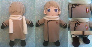 APH Russia Plushie by SkullBurst