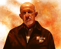 Breaking Bad - Mike Ehrmantraut by p1xer