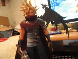 Cloud Strife- Top half by sazmullium