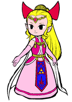 FS Adventure Princess Zelda by Princess-Selia