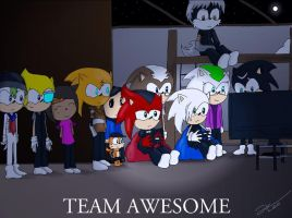 Team Awesome by DarkClaw154