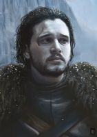 Jon Snow - Game Of Thrones by Russtiel