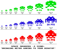 space invaders -3icons- by gr8koogly