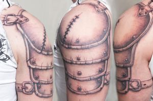 Armour tattoo by tpenttil