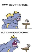 Two Stupid Pokkemon by CrazyIguana